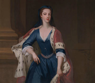 Painting - Lady Anne Cavendish by Jonathan Richardson the Elder