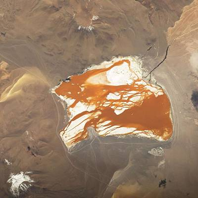 Painting - Laguna Colorada by Celestial Images