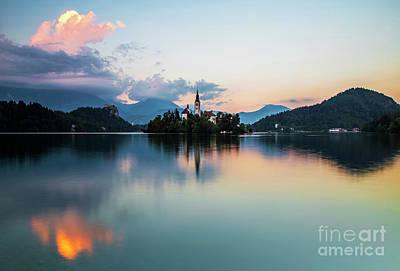 Wall Art - Photograph - Lake Bled. by Sebastien Coell