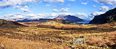 Scenery Photograph - Landscape Near Loch Maree In The by Maremagnum