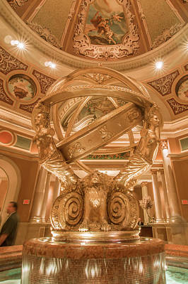 Photograph - Las Vegas Nevada Luxurious Architecture And Accommodation Scenes by Alex Grichenko