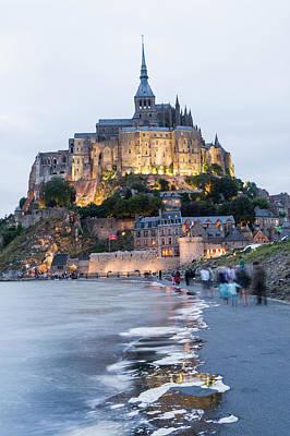 Travel Destinations Photograph - Le Mont Saint Michel, Normandy, France by John Harper