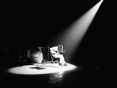 Photograph - Led Zeppelin Performs In 1972 by Michael Ochs Archives