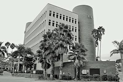 Photograph - Lee County Administration Building by Michiale Schneider