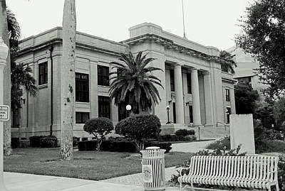 Photograph - Lee County Courthouse by Michiale Schneider