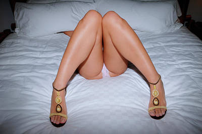 Photograph - Legs And Panties 3453 by Amyn Nasser