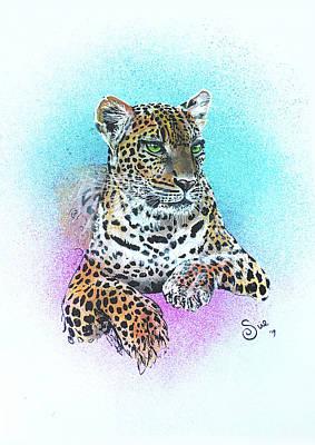 Painting - Leopard by Sue Art studio
