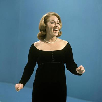 Photograph - Lesley Gore On British Tv by David Redfern