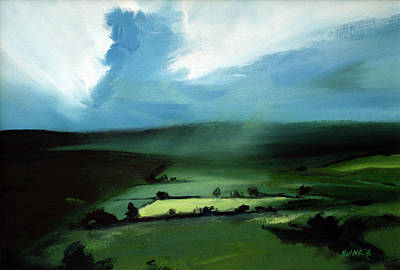 Wall Art - Painting - Light Squall by Neil McBride
