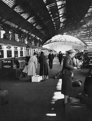Photograph - Liverpool Lime Street Station by Bert Hardy