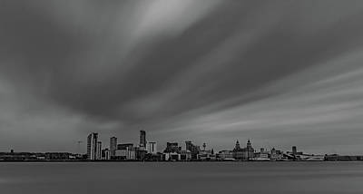 Photograph - Liverpool Waterfront Long Exposure by Paul Madden
