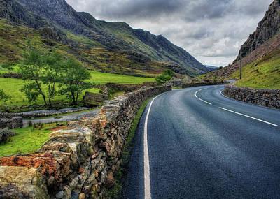 Photograph - Llanberis Pass  by Ian Mitchell
