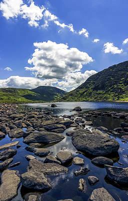 Photograph - Llyn Eigiau by Ian Mitchell