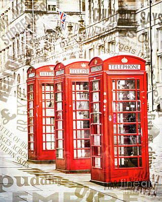 Photograph - London Calling by Hal Halli