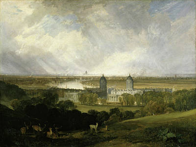 Painting - London From Greenwich Park  by Joseph Mallord William Turner