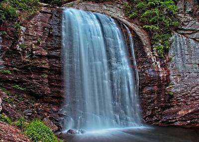 Photograph - Looking Glass Falls by Allen Nice-Webb
