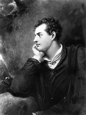 Lord Byron Art Print by Hulton Archive