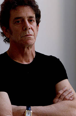 New York City Photograph - Lou Reed by New York Daily News