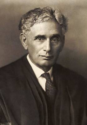 Painting - Louis Brandeis by Celestial Images