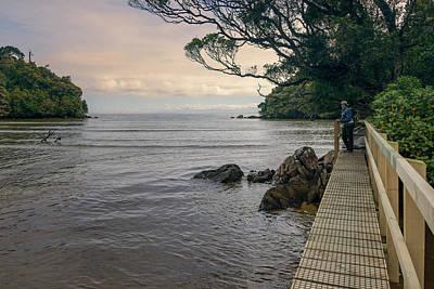 Photograph - High Tide Crossing Stewart Island New Zealand by Joan Carroll