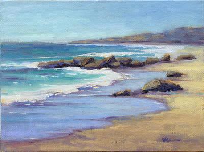 Painting - Low Tide by Konnie Kim