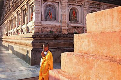 Photograph - Mahabodhi by Marji Lang