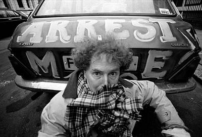 Photograph - Malcolm Mclaren London 1991 by Martyn Goodacre