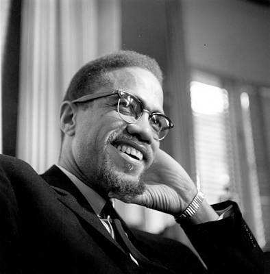 Malcolm X Wall Art - Photograph - Malcolm X by Michael Ochs Archives