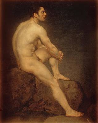 Painting - Male Nude by Manuel Ignacio Vazquez
