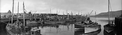 Mallaig Harbour Art Print by Alfred Hind Robinson