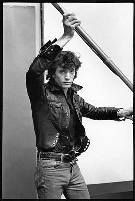 Photograph - Mapplethorpe In His Studio by Fred W. Mcdarrah