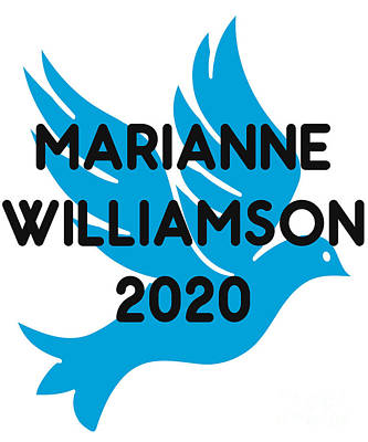 Digital Art - Marianne Williamson For President 2020 by Flippin Sweet Gear