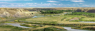 Photograph - Marias River Valley by Todd Klassy