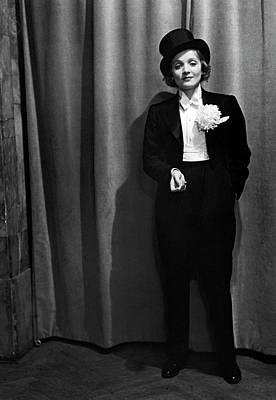 Photograph - Marlene Dietrich by Alfred Eisenstaedt