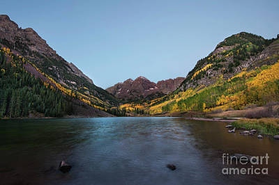 Photograph - Maroon Bells by Joe Sparks