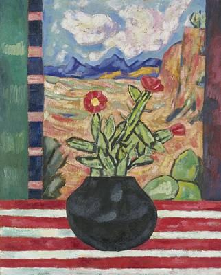 Painting - Marsden Hartley 1877 - 1943 Untitled Still Life by Marsden Hartley