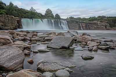 Photograph - Maruia Falls - New Zealand by Joana Kruse