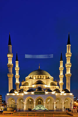 Photograph - Melike Hatun Mosque by Fabrizio Troiani