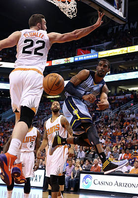 Photograph - Memphis Grizzlies V Phoenix Suns by Christian Petersen