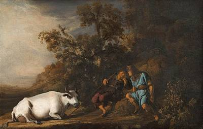 Painting - Mercury, Argus And Io by Govert Flinck