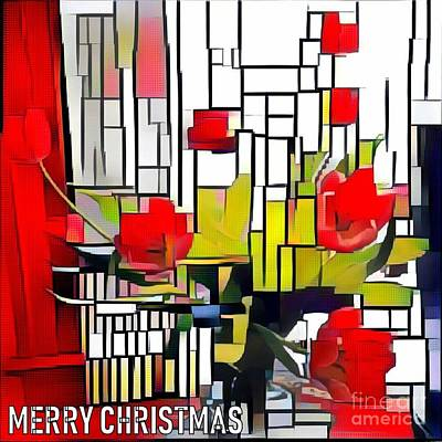 Photograph - Merry Christmas Red by Jodie Marie Anne Richardson Traugott          aka jm-ART