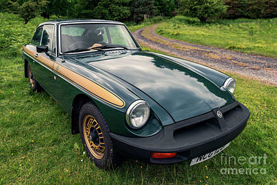 Photograph - Mgb Gt by Adrian Evans