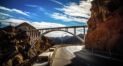 Photograph - Mike O Callaghan-pat Tillman Memorial Bridge by Alex Grichenko