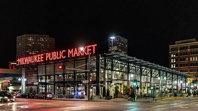Photograph - Milwaukee Public Market by Randy Scherkenbach