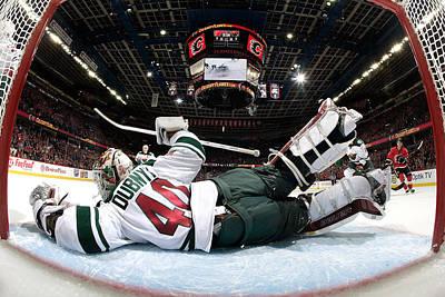 Photograph - Minnesota Wild V Calgary Flames by Gerry Thomas