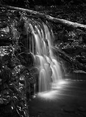 Photograph - Misty Falls by Paul W Faust - Impressions of Light