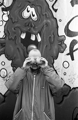 Photograph - Moby East Village New York 1995 by Martyn Goodacre
