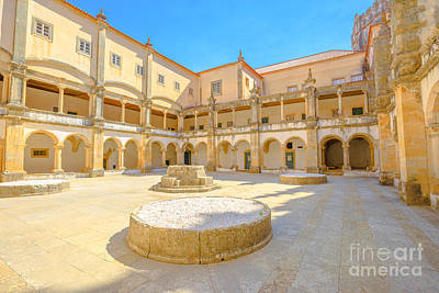 Photograph - Monastery Of Templar Portugal by Benny Marty