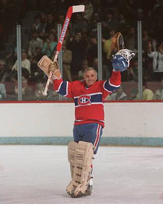 Photograph - Montreal Canadiens by Denis Brodeur