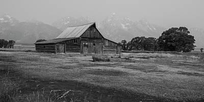 Photograph - Mormon Barn by Michael Monahan